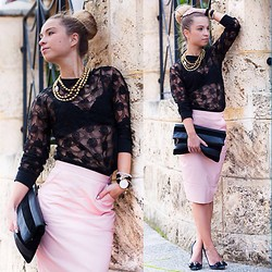 Anna Whyte - Missguided Skirt, Bowerhaus Jewellery - Australian Autumn