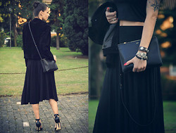 Anni Benton - Céline Bag, Sly010 Shoes - Black outfit