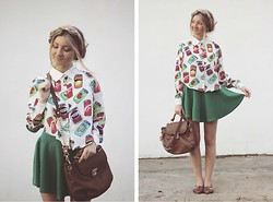 ♡Anita Kurkach♡ - Vateno Shirt, Wholesale7 Skirt, Asos Shoes, Asos Bag - Life is a grand.