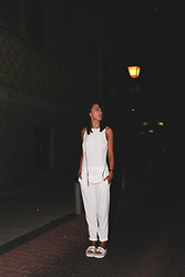 Lucita Y - Zara Jumpsuit - WHITE AT NIGHT