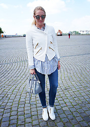 Maike L. - Zara Jacket - Out for lunch