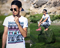 Ahmed Imoudrog - Cap From Banggood, Wholesalecelebshades Glasses From, Dechesse Paris T Shirt - Fashion in atlantic