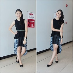 Maricar Valdez - Mullet Skirt, Peplum Top - Did you make it to the milky way?