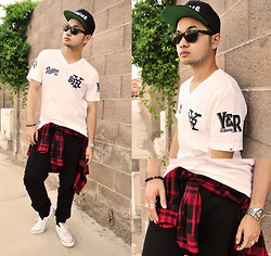 Shawn C. - Forever 21 21men Joggers - CRUSH (Visit my blog)