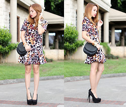 Stephanie D - Blackfive Clothing Animal Print Dress, Forever 21 Bag, Forever 21 Heels - Animal Instinct