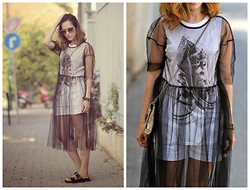 Tali Lugashi Nashon -  - Transparent dress