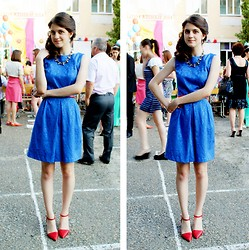 Alina Krasnaya - Love Republic Dress, Pull & Bear Heel, Mohito Necklace, Parfois Earring - PROM 2014