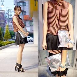 Rekay Style -  - Pleats meets pleats