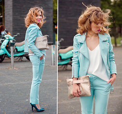 Wioletta Mary Kate -  - Pale Blue Look 29.06