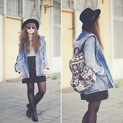 Maddy C - Romwe Jacket, New Look Backpack - 30/06/2014