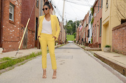 Tia Newton - Zara Suit - The Perfect Summer Suit