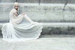Nina Racic - Nina Rajak White Lace Dress - Hour of the dawn