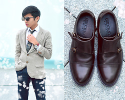 Mc kenneth Licon - Guidomaggi Taormina Monk Strap Shoes, Fossils Sunglasses, Triwa Time Piece - Summer Romance