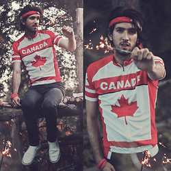 Bobby Raffin - Tiny Deal Canada Jersey - Canada Day