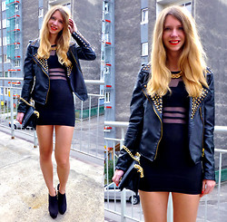 Ania Zarzycka - 6ks Dress - Black is black