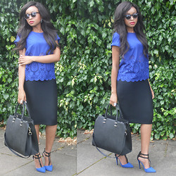 Laviniah K -  - A sea of blue