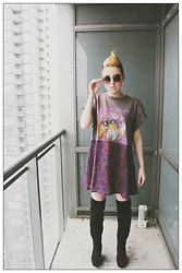 Ciara O'Neill - F As In Frank Tshirt Dress - F as in Frank Vintage X Crooked Grind Collective
