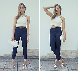 Blue Coppelia -  - High Waisted Jeans