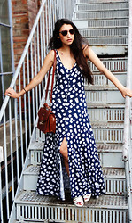 Anoushka P - Abercrombie Maxi Dress, Asos Shoes, Ralph Lauren Bag - To the Rooftop