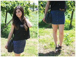 Marisa Silva - H&M Blouse, New York Skirt, Primark Bag, Next Shoes - You are on my wishlist