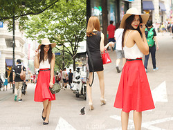 Patricia Prieto - American Apparel Wide Brimmed Hat, Zara Skirt, Givenchy Bag - All I Wanna Be Is Somebody To You