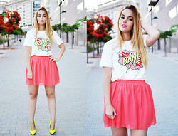 Nery Hdez - Frontrowshop Shirt, Oasap Skirt, Lovelyshoes.Net Shoes - BANG