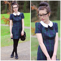 Temp Sec - Primark Dress - Green Tartan