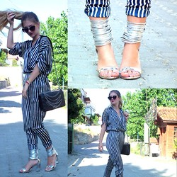 Gizem Seckin -  - The Best Shoes with The Best Jumpsuit