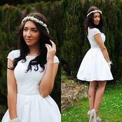 Klaudia Warasiecka - Chichi Clothing Dress - White dress