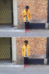Dan Pantoja - Rembrandt Fedora Hat, I Love Ugly Mustard Work Shirt, Nudie Jeans Thin Finn, Nike Flyknit Racers - EVERYDAY STRUGGLE Δ