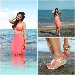 Dalia Fashion - Beach Set, K&Kmacrame Sandals - Frutti di Mare