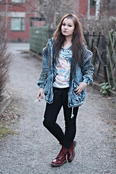 Rosa-Fiona Bettina Rönnberg -  - AWESOME DENIM
