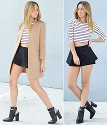 Friend in Fashion * - Statement, Ankle, Crop, Camel - CROP TOPS & COATS