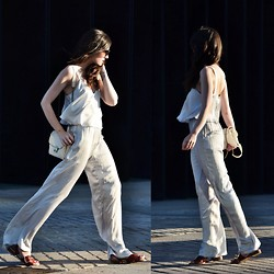 Laura Views - Zara Jumpsuit, Zara Shoes, Brussosa Bag - Light
