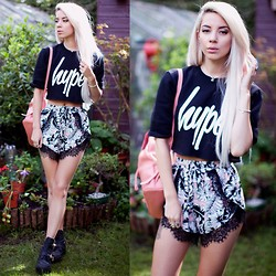 Leanne Lim-Walker - Missguided Shorts, Hype. Hype - Hype