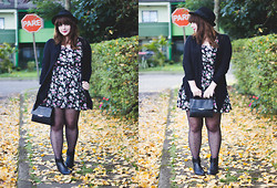 Melina Souza - Forever 21 Hat, Renner Cardigan, Forever 21 Dress, Forever 21 Bag, Tutu Boot - I want to buy you flowers
