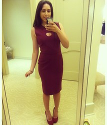 Juliana Rosina - Raoul Burgundy Dress - Raoul!
