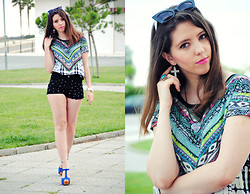 Ana Mª Aranda -  - Ethnic crop top