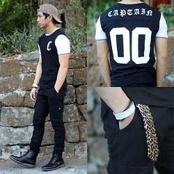Nick Ronquillo - Forever 21 Jersey, Milanos Boots - Captain