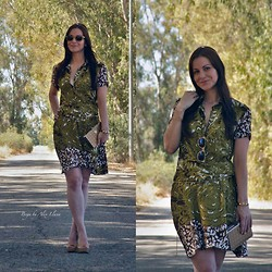 Alex Llana - Móler Sunglasses, Cuplé Dress, Beguer Heels - Welcome to the jungle