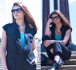 Alexandra Gheorghe - H&M Jumpsuit - SUMMER IN THE CITY