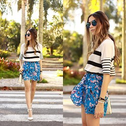 Flávia Desgranges van der Linden - Gap T Shirt, Blackfive Skirt - Sweet Breeze