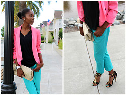 Nikki - The Limited Pink Blazer, Forever 21 T Strap Heels, Nike Nike+ Gps Watch - The Gallery