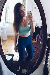 Jodie Boulton - Topshop Too, Topshop High Waisted Jeans - 250714