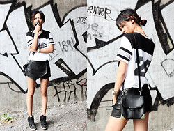 Miu N - Cubus Top, Alexander Wang Bag, Nike Shoes, Zara Shorts - No Relief