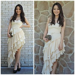 Kimberly Kong - Chic Wish Chicwish Dress, Handbag Heaven Bag, Candie's Shoes - The Trendy Evening Gown