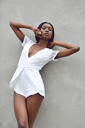 Natasha N - Playsuit, Rings - Kerala Crochet