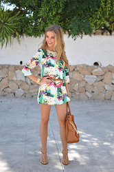 LOLA C - Choies Dress, Michael Kors Bag, Zara Sandals - Mixed color