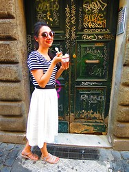 Anne C -  - Summer+Icre Cream+Rome=Happiness!