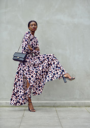 Natasha N - Chanel, Dress, Asos Heels - The New Bohemian